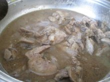 Chicken LIvers in Broth