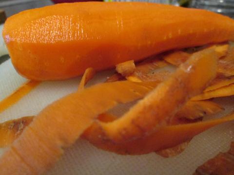 Shaving the Carrots!