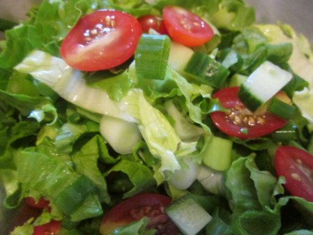 Salad For Chicken Thighs Recipe