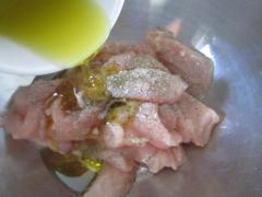 Adding the Lemon Oil and Honey