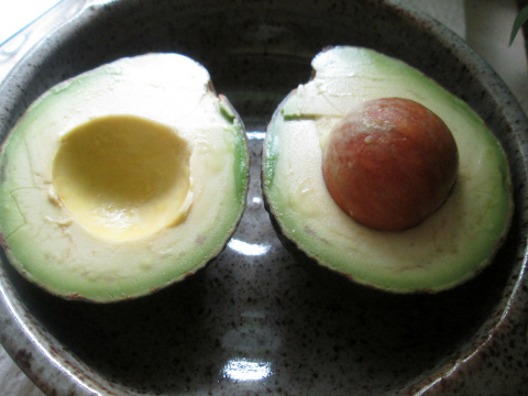 Baked Avocado Halves