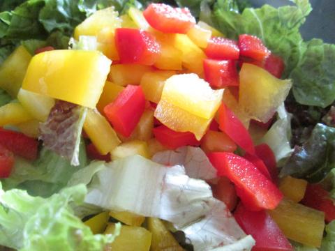 Baked Chicken Pasta Side Salad