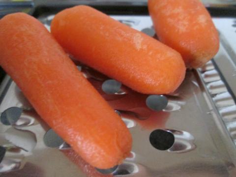 Carrot Grating Time!