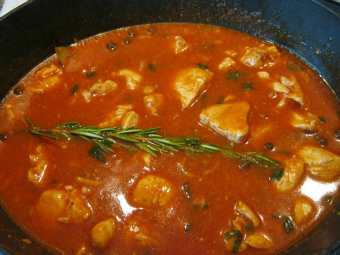 Chicken Casserole with Rosemary