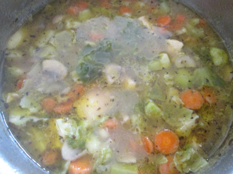 Chicken Potato Soup Ready to Serve