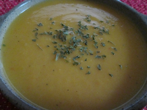 Chicken Pumpkin Soup