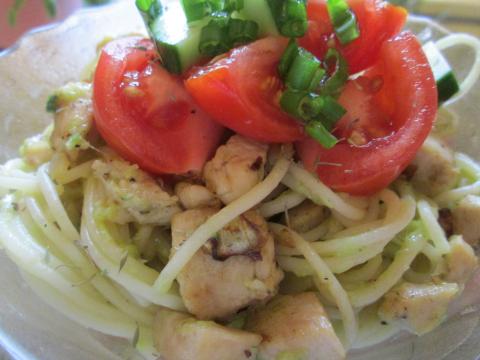 Chicken Tomato Pasta Dinner