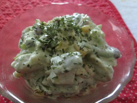 Chicken Vegetable Salad Recipe