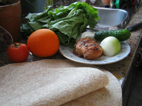 Chicken Wraps Ingredients