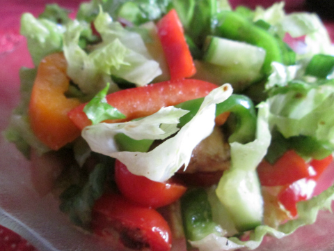 Chicken and Peppers - Summertime in a Bowl!