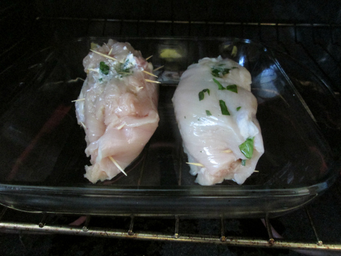 Chicken Rolls in Oven
