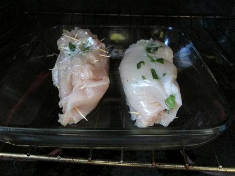 Chicken Rolls in Oven