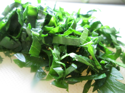 Chopped Fresh Parsley