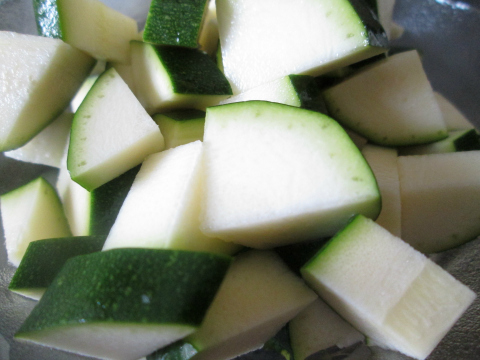 Chopped Zucchini Optional