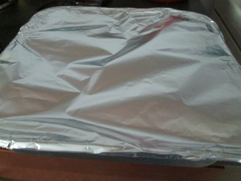 Covering With Aluminum Foil