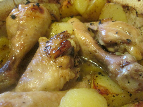 Drumsticks and Potatoes: Almost Done!