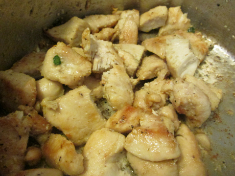 Golden Chicken Breast Chunks