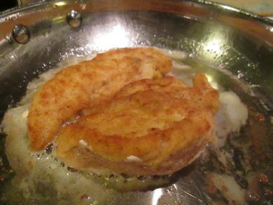 Golden crunchy chicken