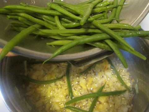 Green Bean and Onion Sides