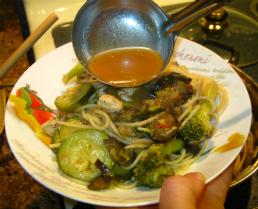 Broccoli Chicken Pasta Dinner!