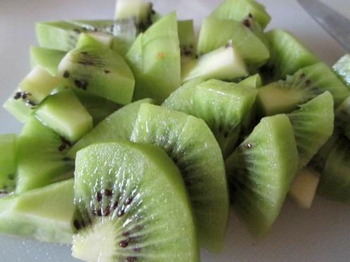 Kiwi for salad