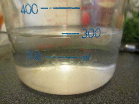 Measuring Water
