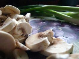Mushrooms for Chicken Lasagna