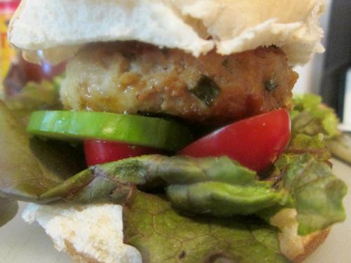 My Favorite Chicken Burger Recipe