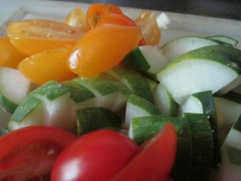 Organic Salad From My Garden