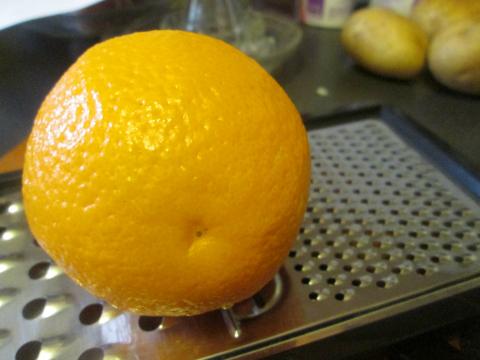 Orange for Zest and Juice