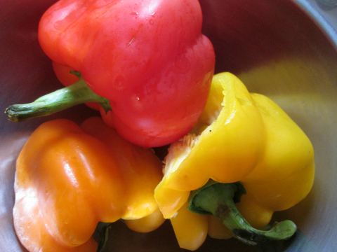 Beautiful Colored Peppers!