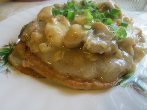 PotatoPancake Recipe and Chicken Stew