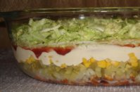 Chicken Salad Layers