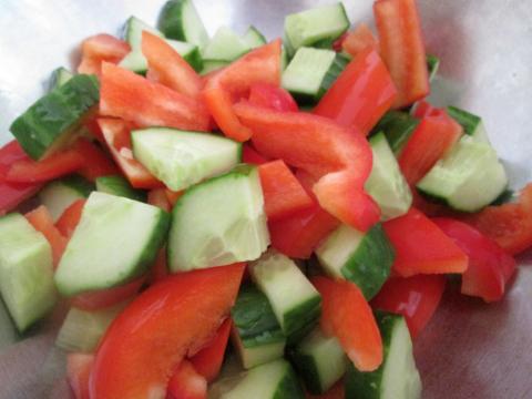 Salad ala King - or Chef!