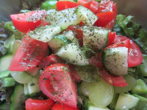 Salad for Chicken Cordon Bleu Recipe