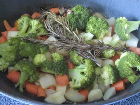 Sauteing the Veggies