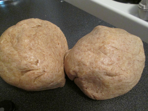 Separating the Dough into Balls
