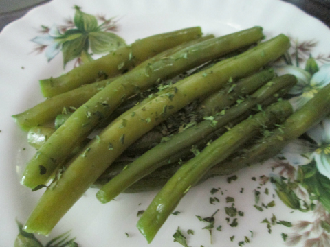 Set Out The Green Beans