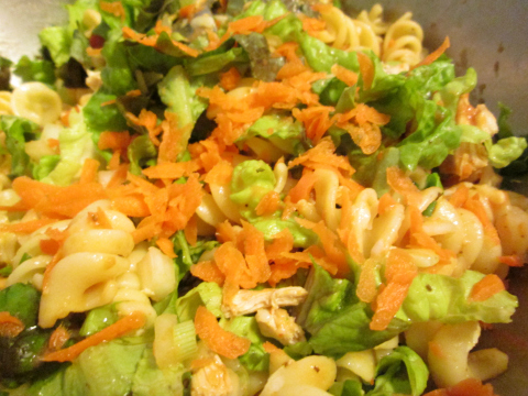 Shredded Carrot Substitution