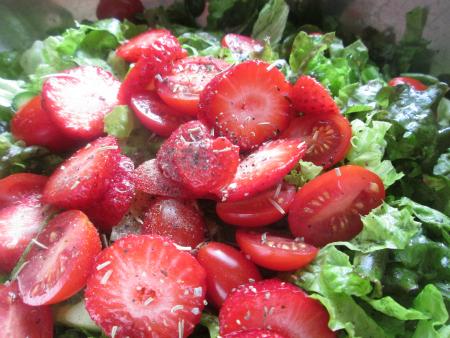 Special Salad for Cordon Bleu