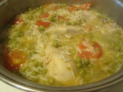 Simmering Crispy Chicken
