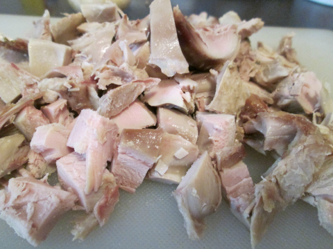Sliced Chicken