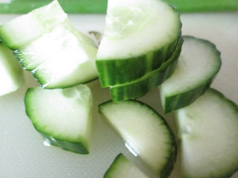 Sliced Cucumber Addition
