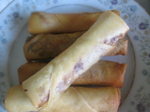 Spring Roll Recipe with Chicken