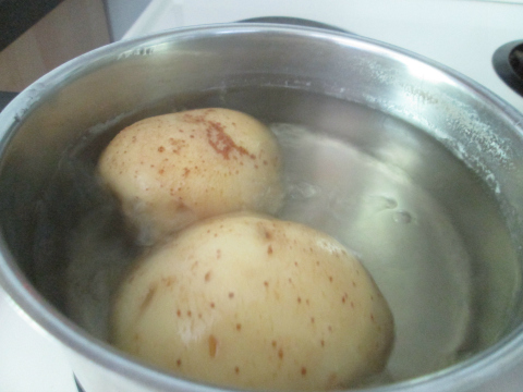Starting To Boil The Potatoes