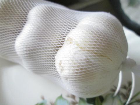 Stuffing Garlic