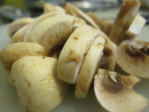 Thickly Sliced Mushrooms