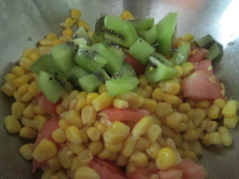 Vegetable Salad Recipe Experiment Part One