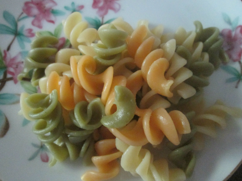 Veggie Pasta Serving