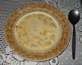 Bean Soup Recipe with Chicken by Monika Fraczek